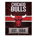 Chicago Bulls Brickyard Canvas Wall Art