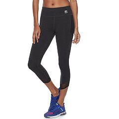 Women's FILA SPORT® Mesh Inset Capri Leggings