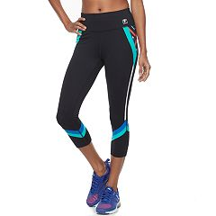 Women's FILA SPORT® Geometric High-Waisted Capri Leggings