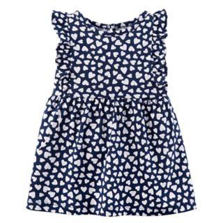 Baby Girl Carter's Heart Print Dress