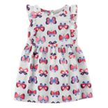 Baby Girl Carter's Butterfly Print Dress