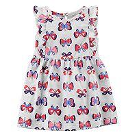 Baby Girl Carter's Butterfly Print Dress