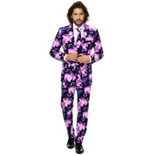 Men's OppoSuits Slim-Fit Galaxy Guy Novelty Suit & Tie Set
