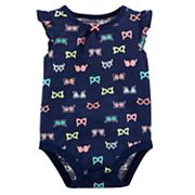 Baby Girl Carter's Sunglasses Slubbed Bodysuit