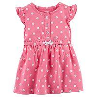 Baby Girl Carter's Polka-Dot Dress