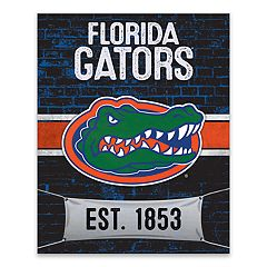 Florida Gators Brickyard Canvas Wall Art