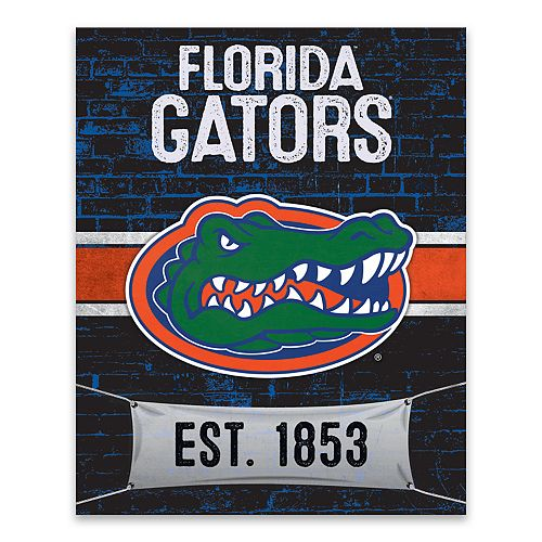 Florida Gators Brickyard Canvas Wall Art