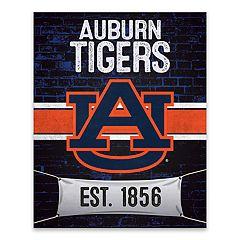 Auburn Tigers Brickyard Canvas Wall Art