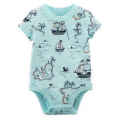 Baby Boy Carter's Treasure Map Bodysuit