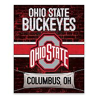 Ohio State Buckeyes Brickyard Canvas Wall Art