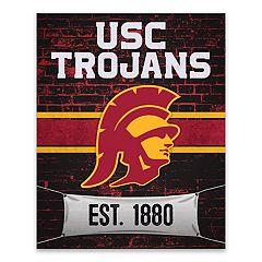 USC Trojans Brickyard Canvas Wall Art