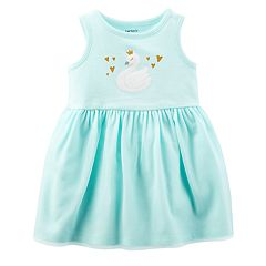 Baby Girl Carter's Swan Tulle Skirt Dress