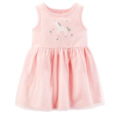 Baby Girl Carter's Unicorn Tulle Skirt Dress