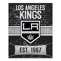 Los Angeles Kings Brickyard Canvas Wall Art