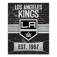 Los Angeles Kings Brickyard Canvas Wall Art