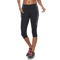 Women's FILA SPORT® Side Pockets Capri Leggings