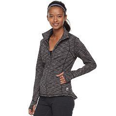 Women's FILA SPORT® Flounce Back Thumb Hole Jacket