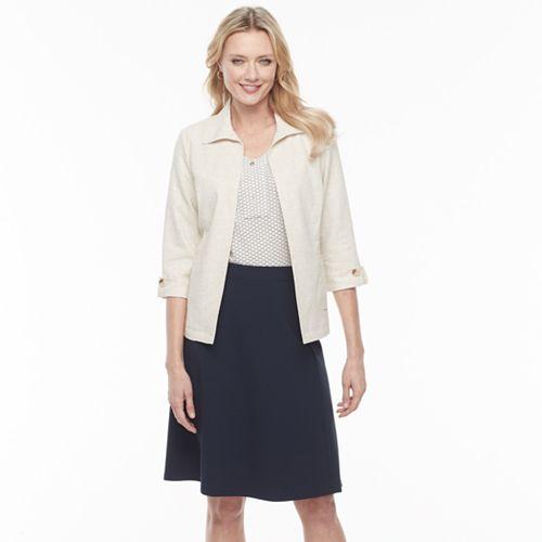 Women's Dana Buchman Open-Front Soft Jacket
