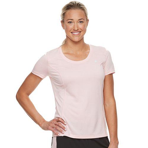 Women's FILA SPORT® Space-Dyed Short Sleeve Tee