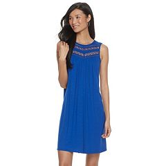Women's Apt. 9® Lace Yoke Swing Dress