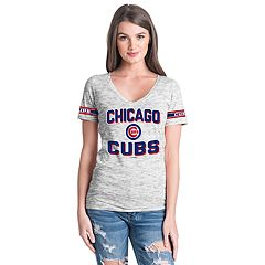 Women's Chicago Cubs Space dye Tee