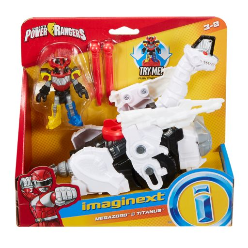 Imaginext Power Rangers Megazord & Titanus Set by Fisher-Price
