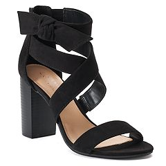 LC Lauren Conrad Girlfriend Women's High Heel Sandals