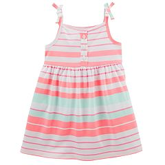 Baby Girl Carter's Striped Sleeveless Knit Dress