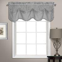 United Curtain Co. Summit Sheer Voile Tuck Window Valance