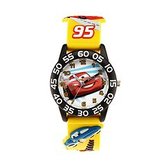 Disney / Pixar Cars 3 Lightning McQueen Kids' Time Teacher Watch