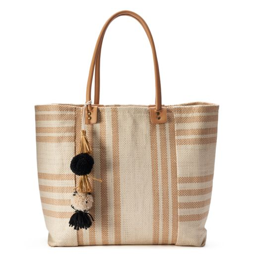 SONOMA Goods for Life™ Seagrass Striped Tote