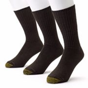 GOLDTOE 3-pk. Cotton Fluffies Crew Socks