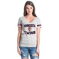 Women's Minnesota Twins Space dye Tee