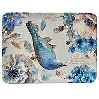Certified International Indigold Bird Rectangle Platter