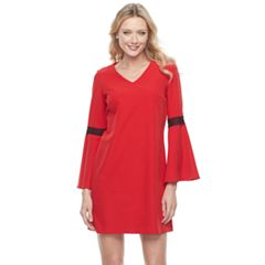Women's Sharagano Bell Sleeve Shift Dress