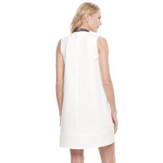 Women's Sharagano Lace-Trim Shift Dress