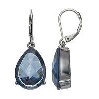Simply Vera Vera Wang Blue Nickel Free Teardrop Earrings