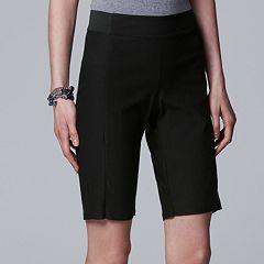 Women's Simply Vera Vera Wang Modern Bermuda Shorts