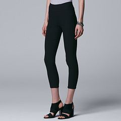 Women's Simply Vera Vera Wang Textured Twill Ankle Pants