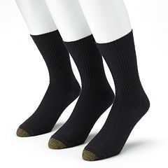 Men's GOLDTOE® 3 pkFluffies Crew Socks
