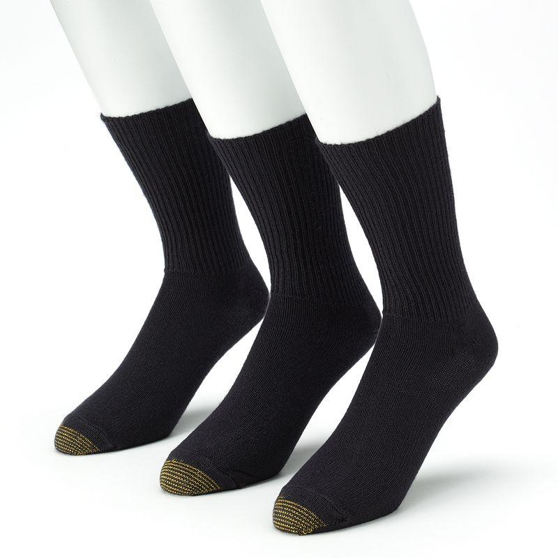 GOLDTOE 3-pk. Fluffies Crew Socks