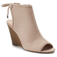 LC Lauren Conrad Bergenia Women's Wedges