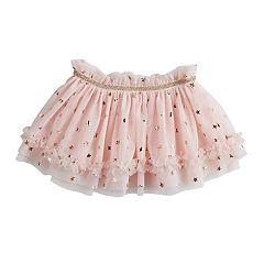 Baby Girl Baby Starters Foiled Star Tulle Tutu