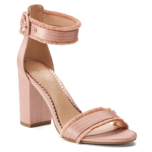 LC Lauren Conrad Admirer Women's High Heel Sandals