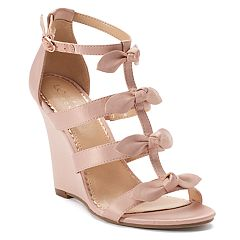 LC Lauren Conrad Decorate Women's Wedges