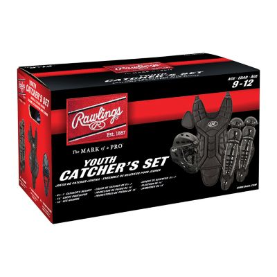 Rawlings Players Series Catcher's Helmet, Chest Protector & Knee/Leg Guards Set