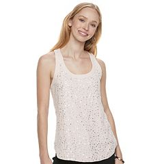 Juniors' Candie's® Sequin Tank