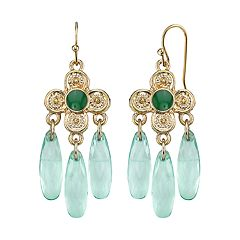 1928 Quatrefoil Chandelier Earrings