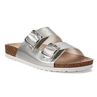 SONOMA Goods for Life™ Calligraphy Women's Leather Sandals