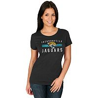 Women's Majestic Jacksonville Jaguars Franchise Fit Tee